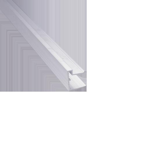 Päätelista alareunaan 10mm pituus 2100 mm